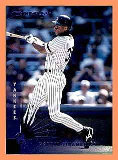 1997 Donruss Team Sets Blue Foil NEW YORK YANKEES Single Card #132 Darryl Strawberry