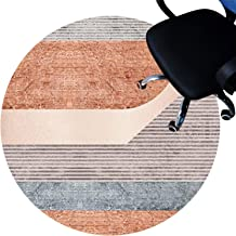 Chair Floor mat Short Pile Carpets Anti Slip Rug Pad Silent Floor Mat Easy to Clean Floor Protector Mat(Size:160cm/63in,Co...