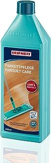 Leifheit Parkettpflege 1000 ml zur Intensivpflege, schmutz- und wasserabweisendes Holzpflegemittel, Parkett Öl zur Bodenversiegelung
