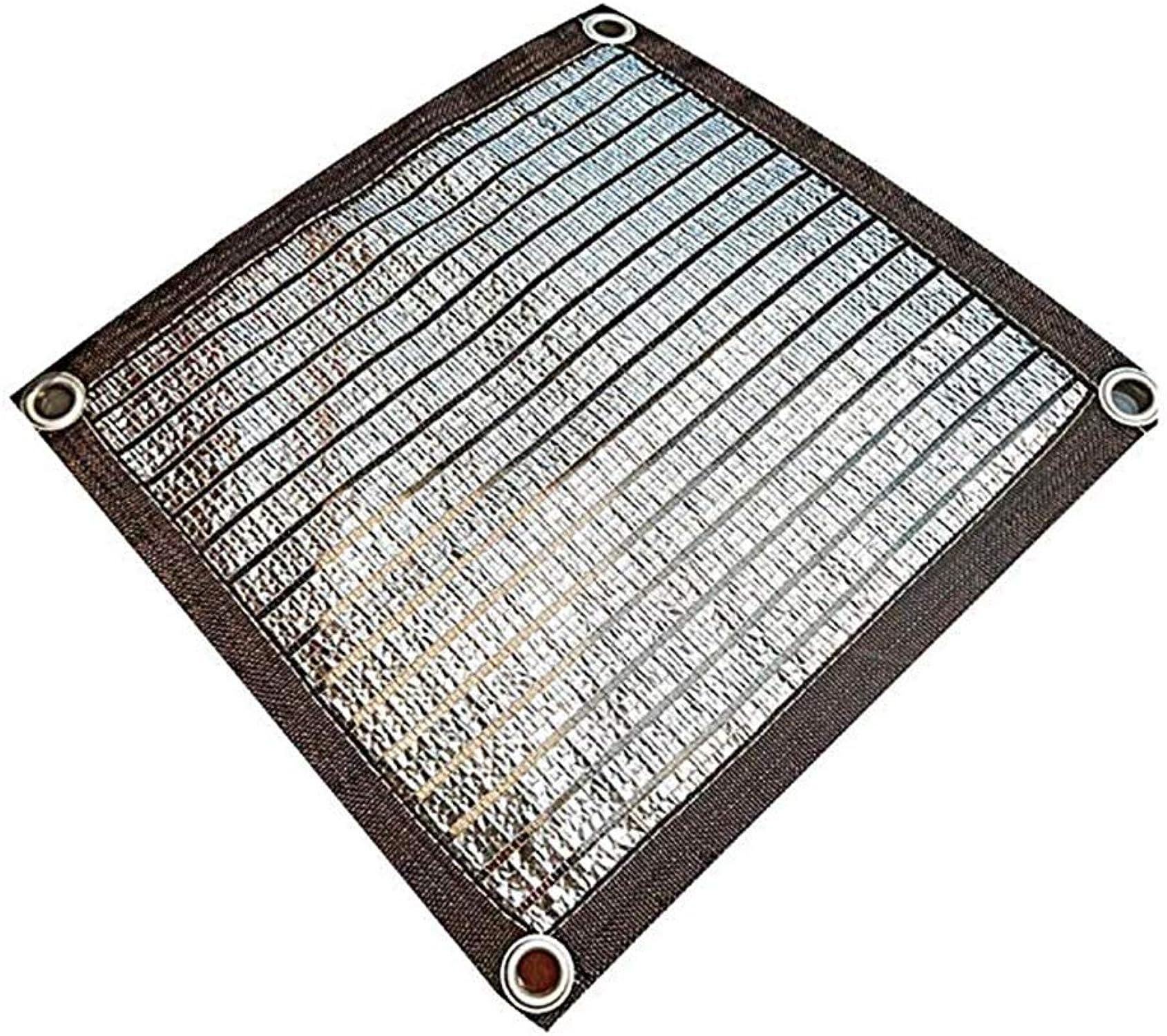 marca de lujo MYYDD Tela de la la la Cortina Papel de Aluminio Sombrilla rojo Projoección Solar Tela Lona Projoectora UV para el jardín Balcón Cobertizo rojo de Sombra,1x5m  punto de venta de la marca