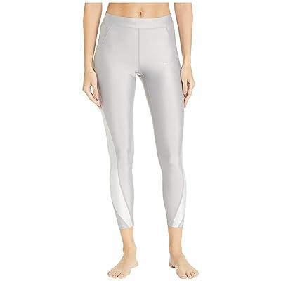 Nike Speed 7/8 Metallic Tights (Atmosphere Grey/Vast Grey) Women