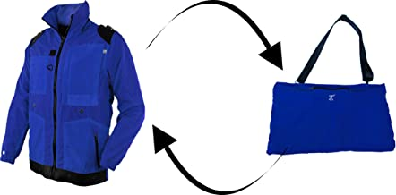 Carry-on/Travel Jacket Converts into a shoulder bag or backpack easily, fast