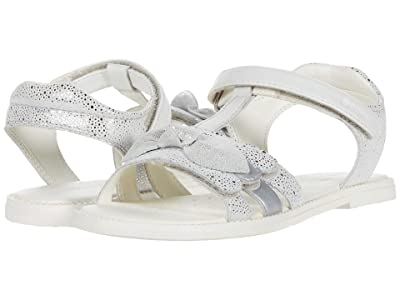 Geox Kids Sandal Karly 41 (Little Kid/Big Kid) (White) Girl