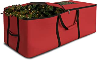 Christmas Tree Storage Bag Waterproof with Padded Carrying Handles & Dual Zipper Superior Protection - Extra Large Contain...