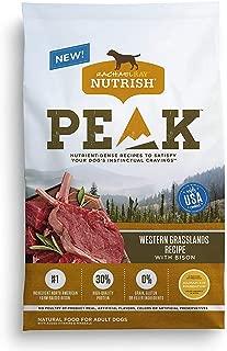 Rachael Ray Nutrish PEAK Natural Dry Dog Food, Grain Free