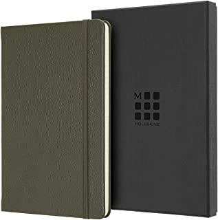 Moleskine Classic Leather Notebook, Hard Cover, Large (5