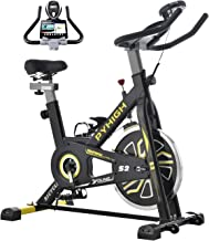 Best PYHIGH Indoor Cycling Bike Stationary Exercise Bike, Comfortable Seat Cushion, Ipad Holder with LCD Monitor for Home Cardio Workout Bike Review