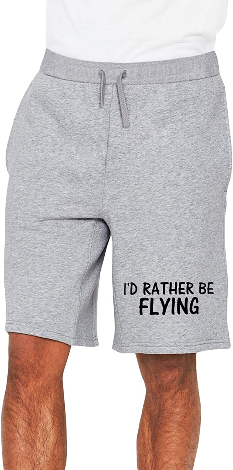 YWZHIQIAN I'd Rather Be Popular products 5% OFF Flying Mans 2 Track Pants 1 Casual Short