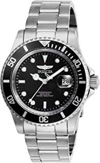 Men's Pro Diver Quartz Watch with Stainless Steel Strap