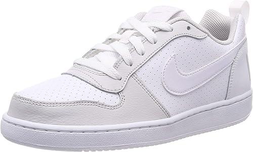 Nike Court Borugh Low (GS), Chaussures de Basketball Garçon