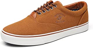 Men's Original Canvas Casual Skate Shoes Classic Low Top Lace Up Fashion Sneakers for Men