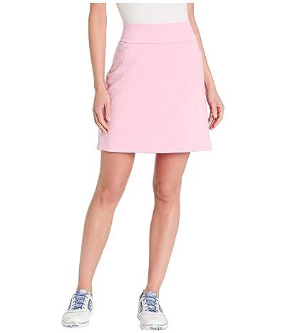 adidas Golf Ultimate Knit 18 Skort (True Pink) Women