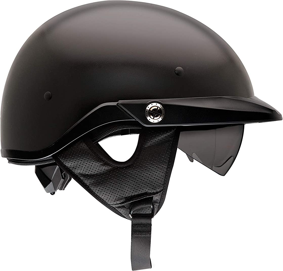 Bell Pit Boss Open-Face Motorcycle Helmet (Solid Matte Black, X-Large/XX-Large)