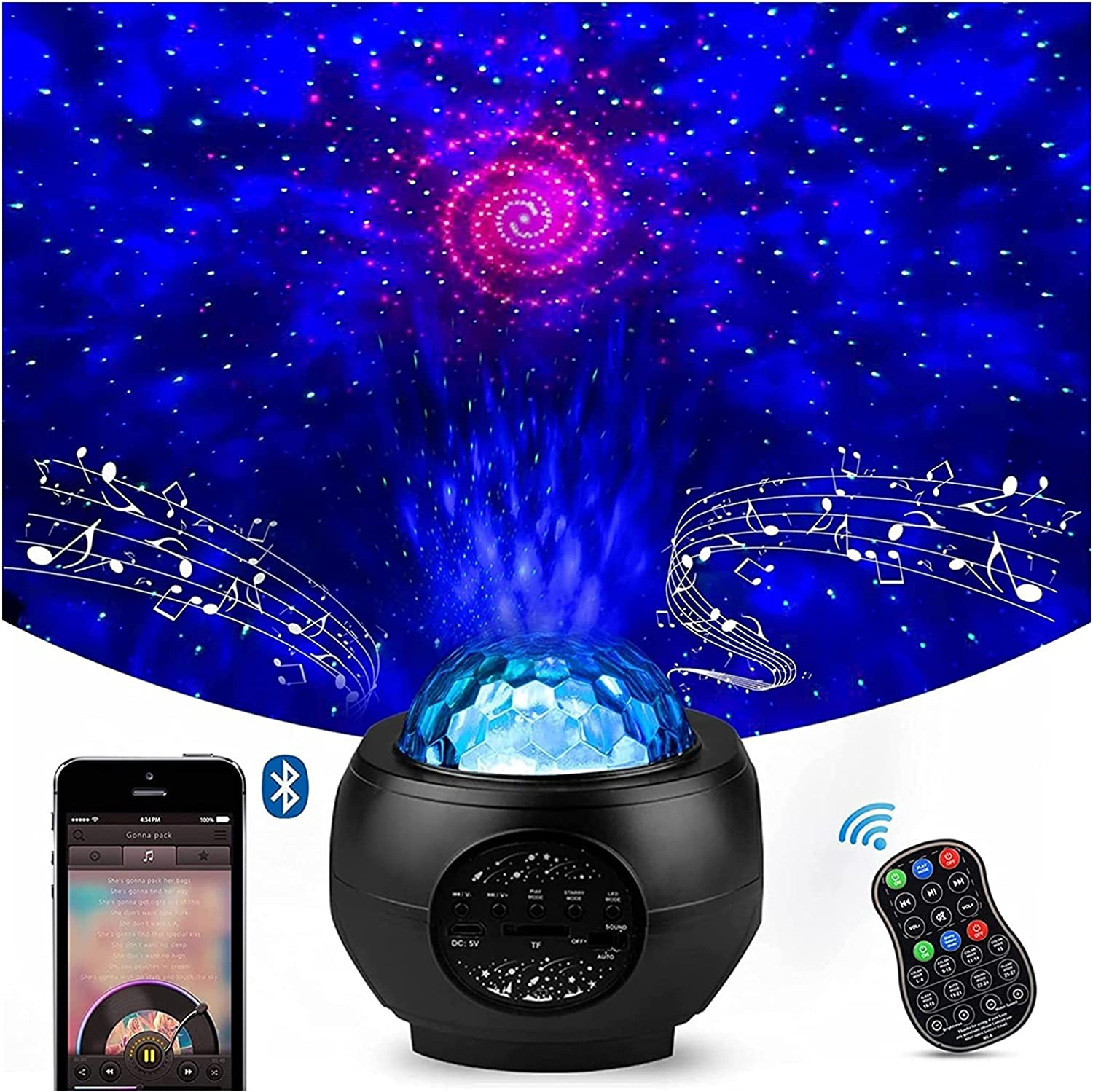 star projector 3 In 1 Max 63% OFF Multi Oce With Starry Color Star Max 70% OFF Projector