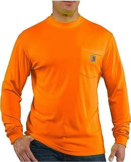 Carhartt Men's High Visibility Force Color Enhanced Long Sleeve Tee