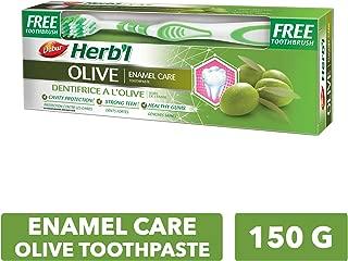 DABUR Herbal Olive Toothpaste, 150 gm + Brush
