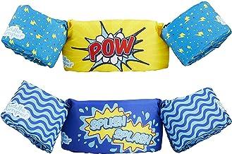 Puddle Jumper Original Kids Life Jacket, 2 Pack | for Kids 30-50 Pounds | Deluxe Toddler Swim Vest