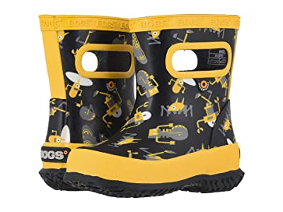 Bogs Kids Skipper Robots (Toddler/Little Kid) (Black Multi) Kids Shoes
