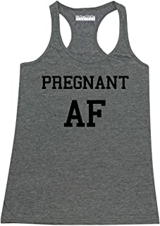 P&B Pregnant AF Funny Pregnancy Announcement Women's Tank Top
