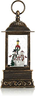 ReLive Christmas Light-Up Snow Globe Lantern - Santa and Friends