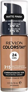Revlon ColorStay Liquid Foundation For Combination/oily Skin, SPF 15 Butterscotch, 1 Fl Oz