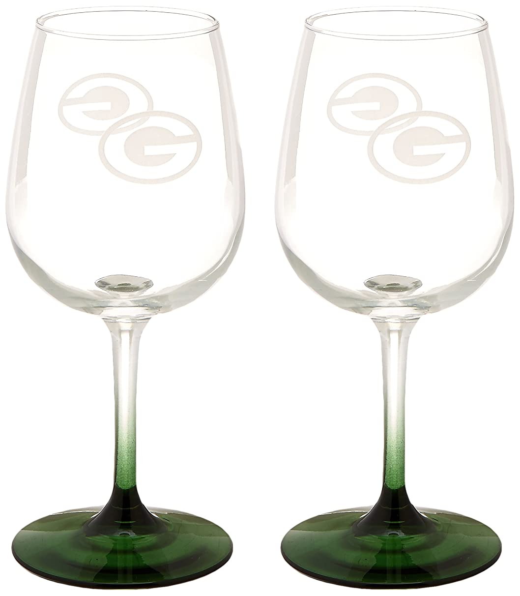 NFL Wine Glass, 12-Ounce, 2-Pack