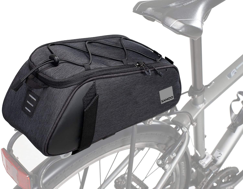 Unisex Adulto Talla /única Negro Roswheel 141465 Bolsa para portabicicletas
