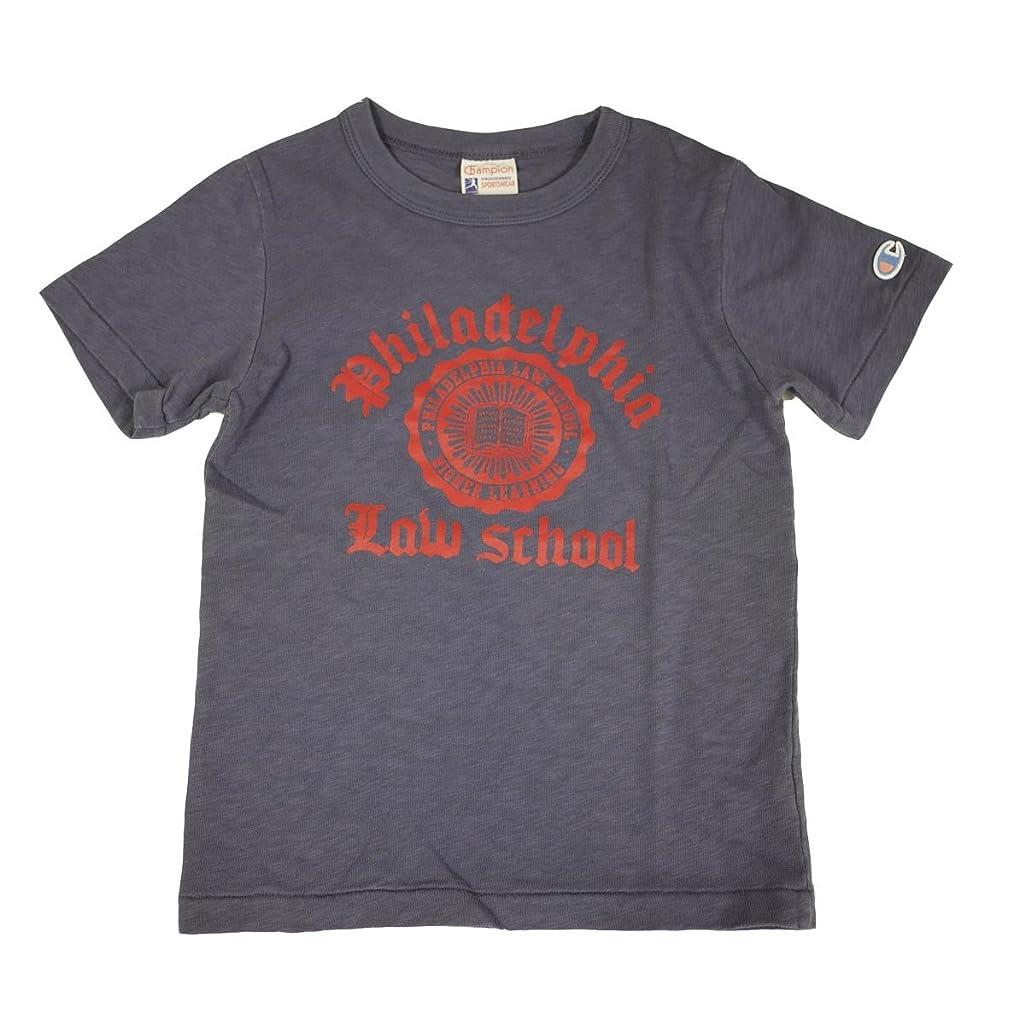 事実エーカー病院(チャンピオン) Champion キッズ Tシャツ CS3512 女の子 男の子 プリント 半袖 子供 ジュニア アルカリWS ビンテージ