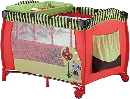ALBB Portable Child Baby Travel Cot Bed Playpen Entryway  Playpen Bassinet Fine Mesh Insect Net Baby  Toddler  Kids