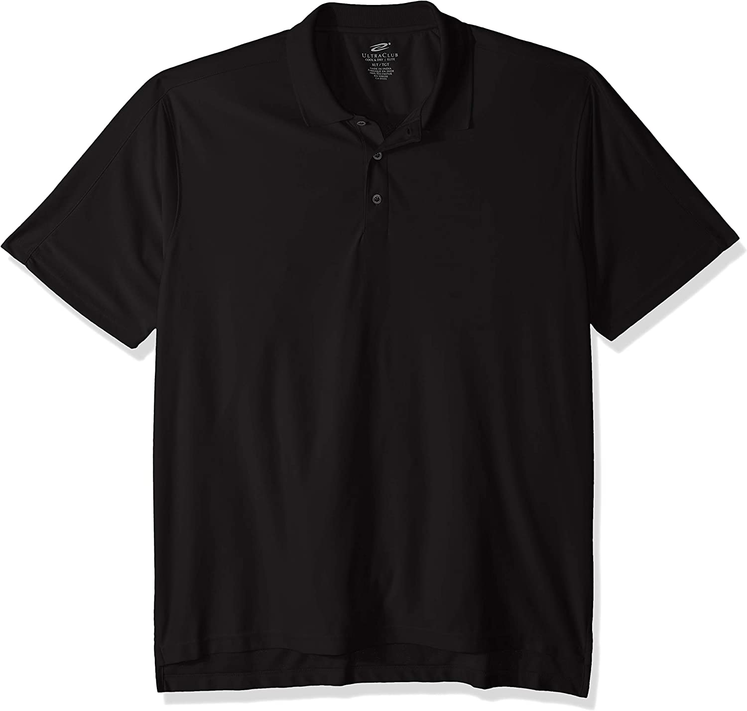 UltraClubs Men's Tall Cool & Dry Elite Performance Polo