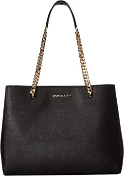 7861e73d48b7 Michael michael kors newbury medium chain shoulder tote