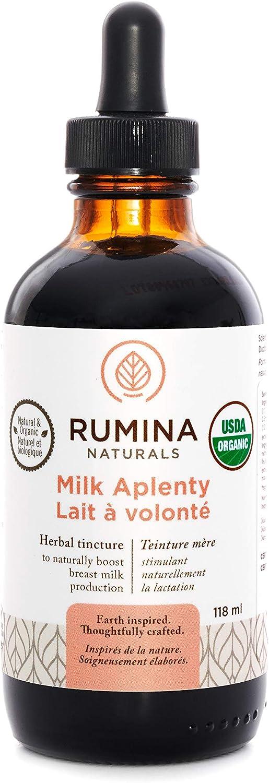 Manufacturer Fort Worth Mall OFFicial shop Rumina Naturals: Milk Aplenty Organic Herbal 4oz Tincture