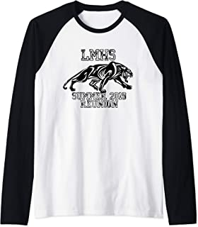 Levittown Memorial reunion Raglan Baseball Tee