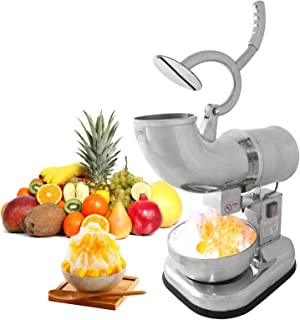 ZENY Commercial Industrial Quality Ice Shaver 250W 440lb/h Snow Cone Shaved Ice Maker Machine