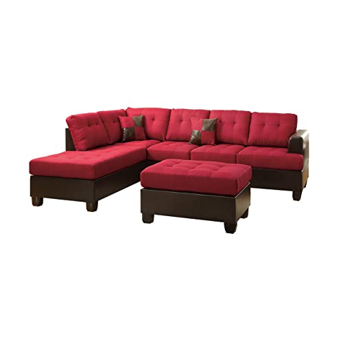 Red Sectional Sofa: Amazon.com