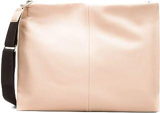 s.Oliver Damen Schmaler Shopper im Leder-Look beige 1