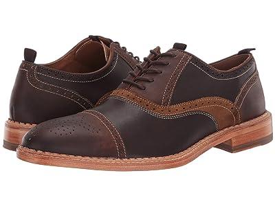 J&M EST. 1850 Chambliss Cap Toe (Dark Brown) Men