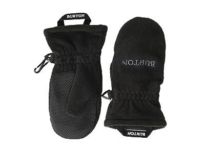 Burton Kids Fleece Mitt (Toddler) (True Black) Extreme Cold Weather Gloves