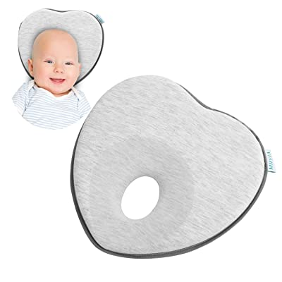 Flat Head Baby Pillow, Baby Head Shaping Pillow...