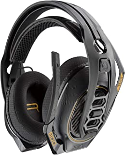 Plantronics Gaming Headset, RIG 800HD Wireless Gaming Headset for Windows with Prepaid Dolby Atmos Activation Code Included (Renewed)