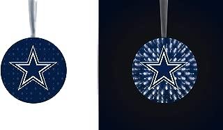 Team Sports America NFL Stargazing Team Logo Matching Ornaments 2-Piece Set