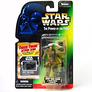 Star Wars: Power of The Force Freeze Frame Endor Rebel Soldier Action Figure