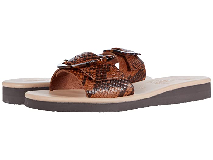Ancient Greek Sandals  Aglaia (Python Tampa) Womens Shoes