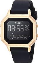 NIXON Siren SS A1211-100 Meter / 10 ATM Water Resistant Women's Digital Sport Watch (36mm Watch Face, 18mm-16mm Band)