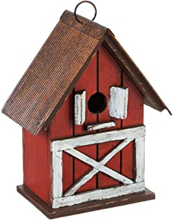 Goose Creek Hanging Bird House Outdoor Garden Decorative Wooden Pet Birdhouse