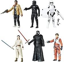 Star Wars The Force Awakens Rey vs Kylo Ren, Poe vs Tie Fighter Pilot & Finn vs FN-2199 Exclusive 3.75