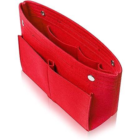 VILAU バッグインバッグ 【ポケット変更版】 トートバッグ インナーバッグ レディース フェルト 軽量