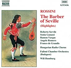 Il barbiere di Siviglia (The Barber of Seville) *: Act II Duetto: Pace e gioia sia con voi (Conte, Bartolo)