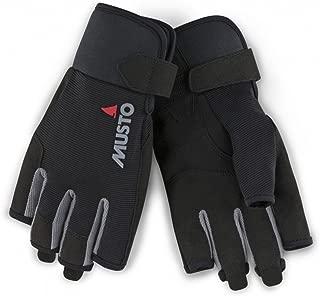 Musto Essential Short Finger Sailing Gloves - 2018 - Black