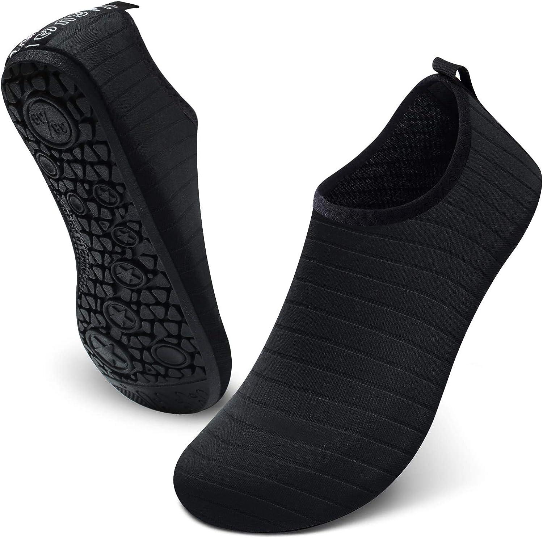 JIASUQI Summer Outdoor Beach Swim Aqua Wom Shoes Atlanta Mall for Water Socks security